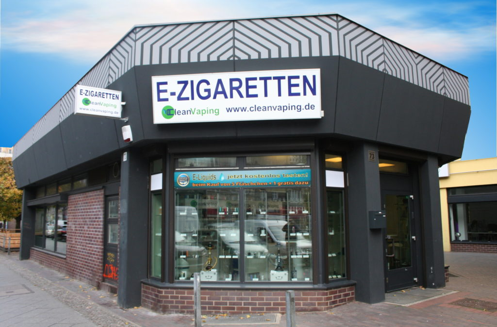E-Zigaretten Berlin - CleanVaping